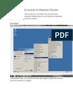 Creación de Usuarios en Máquinas Virtuales