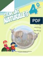 LIBRO DE CIENCIAS NATURALES 4 AÑO BASICO 2013