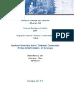 Apertura Comercial y Nuevas Dinámicas comerciales El caso de las panaderías de Nicaragua
