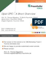 Open EPC Tutorial
