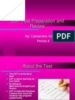 CST Test Prepartion and Preview