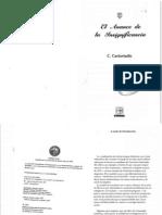 Castoriadis Cornelius - El Avance De La Insignificancia.pdf