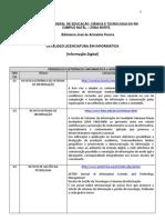 CATÁLOGO PERIÓDICOS - TEXTOS E BASES DE DADOS_ELETRÔNICOS INFORMÁTICA