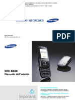 SGH-D600_UG_Ita_Rev.1.0