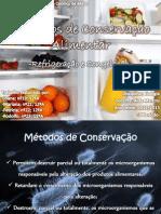 Processos de Conservação Alimentar