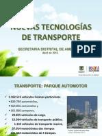 NUEVAS TECNOLOGÍAS DE TRANSPORTE