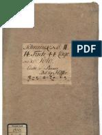 D-Dresden von Hoffer Sonata Mus. 2745-V-1  + TAB