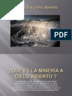 Mineria a Cielo Abierto