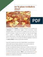 El Sfincione La Pizza Verdadera Palermitani Receta