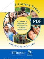 Family Comes First Executive Summary-