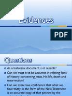 evidences - sun bible class