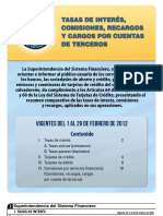 Suplemento_Tasas_02_2012 BCR..