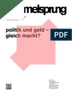 Hammelsprung Ausgabe 7 Politik und Geld - gleich Macht?