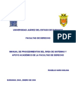 Manual de Org_Area de Sistemas_Fader11