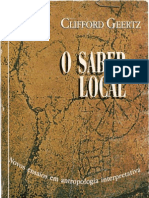GEERTZ, Clifford. O Saber Local. Cap. 3 1995