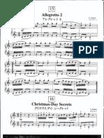 Suzuki Piano School Volume 1-Allegretto 2