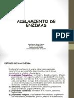 Aislamiento y Purificacion de Enzimas 2010