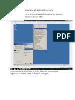 Desinstalar El Active Directory