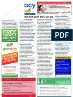 Pharmacy Daily for Fri 26 Apr 2013 - Safety net, compliance, EMA post-market monitoring, Pharmaxis and much more