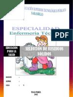 SELECCIÓN DE RESIDUOS SÓLIDOS FINAL