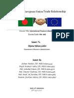 Bangladesh - European Union Trade Relationship