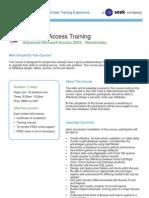 Access 2003 Masterclass