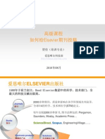 Publishing With Elsevier