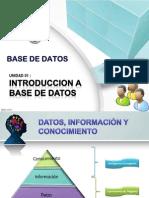 Unidad 01 - Introducción a Base de Datos