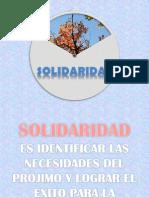 PRESENTACION SOLIDARIDAD