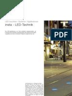 Insta 122 166 LED Applikationen Katalog 2006