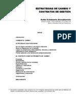 ECHEBARRIA, Koldo - Estrategias de Cambio