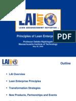 Principles of Lean Enterprises