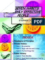20562350 the Seven Habits of Highly Effective People