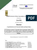 These Dr Awa BA-Agriculture-urbaine