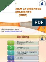Histogram of Oriented Gradients (HOG)