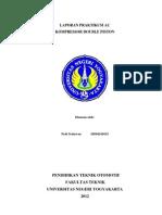 10504241023 - Nedi Setiawan (Praktikum Kompressor AC Type Double Piston)