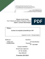Mémoire_Systeme_de _Navigation_par _GPS