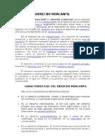 Inf. Sobre Derecho Mercantil
