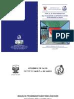 Manual Procedimientos Bacteriologicos IIH