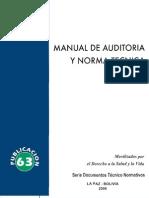 Manual de Auditoria y Norma Tecnica