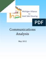 safe homes analysis