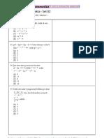 Prediksi Soal Snmptn 2013 Matematika