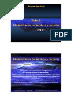 Administracion de Archivos y Carpetas en Windows