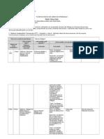 Matriz de Planificacion y Diseno Clase a Clase 2010