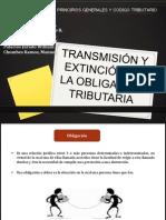 Transmision y Extincion de La Obligacion Tributaria
