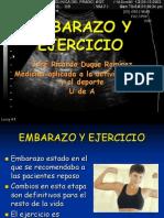 Embarazo y Ejercicio