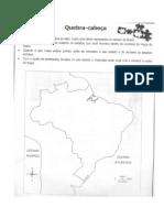 quebra cabeça com mapa do brasil