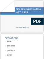 Birth and Death Registration