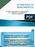 Estabilidad de Medicamentos 2013