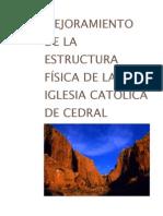 Anteproyecto Iglesia Catolica de Cedral
